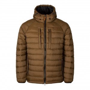 Garphyttan Specialist Insulated Hooded Jacket Brown